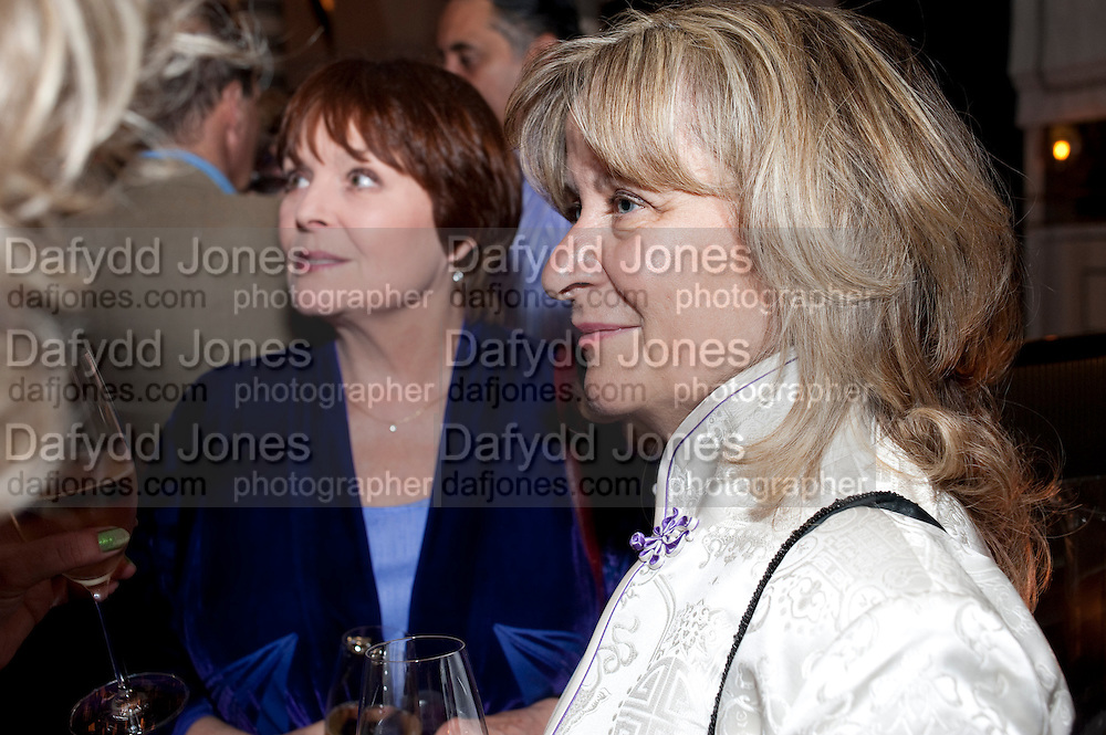 ISLA BLAIR; BARONESS HELENA KENNEDY, Massimo's restaurant at the Corinthia Hotel, Whitehall  host the after party  for 'Claire Rayner's benefit show' 5 June 2011. <br /> <br />  , -DO NOT ARCHIVE-© Copyright Photograph by Dafydd Jones. 248 Clapham Rd. London SW9 0PZ. Tel 0207 820 0771. www.dafjones.com.