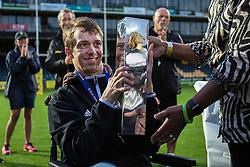 London Warriors Britbowl Champions 2016 - Mandatory by-line: Jason Brown/JMP - 27/08/2016 - AMERICAN FOOTBALL - Sixways Stadium - Worcester, England - London Warriors v London Blitz - BAFA Britbowl Finals Day