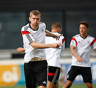 Per Mertesacker of Germany during the Germany training session at the Est&aacute;dio S&atilde;o Janu&aacute;rio, Rio de Janeiro, ahead of tomorrow's World Cup Final. <br /> Picture by Andrew Tobin/Focus Images Ltd +44 7710 761829<br /> 12/07/2014