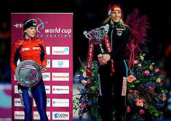 24-02-2008 SCHAATSEN: FINALE ISU WORLD CUP: HEERENVEEN<br /> Ireen Wust<br /> ©2008-WWW.FOTOHOOGENDOORN.NL