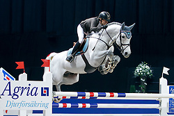 Baryard-Johnsson Malin, (SWE), Corporal Vdl<br /> Swedish International Horse Show 2015<br /> © Hippo Foto - Peter Zachrisson