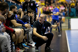 Lino Cervar, head coach of HC PPD Zagreb during handball match between RK Celje Pivovarna Lasko (SLO) and HC PPD Zagreb (CRO) in Group phase of VELUX EHF Men's Champions League 2018/19, November 18, 2018 in Arena Zlatorog, Celje, Slovenia. Photo by Urban Urbanc / Sportida