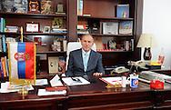 FUDBAL, BEOGRAD, 25. Dec. 2012. - Predsednik FK Crvena zvezda Dragan Dzajic na razgovoru sa novinarima u prostorijama Marakane.  Foto: Nenad Negovanovic