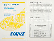All Ireland Senior Hurling Championship Final,.01.09.1963, 09.01.1963, 1st September 1963,.Minor Wexford v Limerick, .Senior Kilkenny v Waterford, Kilkenny 4-17 Waterford 6-08,..Clerys, sports department,