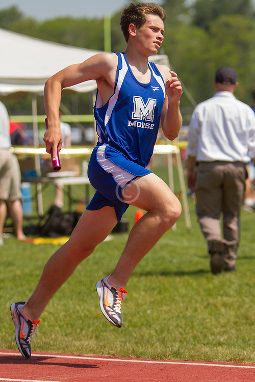 Boys 4x800 meter relay, Morse; Maine State Track & Field Meet - Class B
