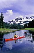 Sea kayaking Prince William Sound, Alaska