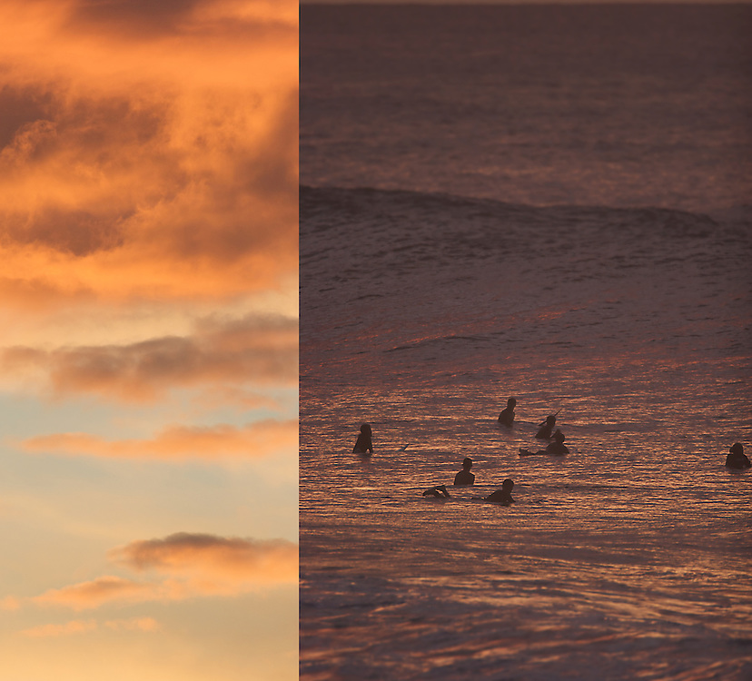 surf photography,ambiance,sunset,hawaii.