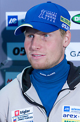 Klemen Bauer at press conference of Slovenian Biathlon National Team before new season 2008/2009, on November 24, 2008 in Emporium, BTC, Ljubljana, Slovenia.  (Photo by Vid Ponikvar / Sportida)