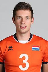 20160516 NED: Selectie Nederlands volleybal team mannen, Arnhem<br />Maarten van Garderen