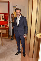 Liam Payne at the reopening of the Cartier Boutique, New Bond Street, London, England. 31 January 2019. <br /> <br /> ***For fees please contact us prior to publication***