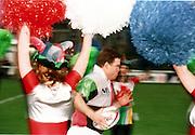 Quins V Leicester 6 Feb 99. Tom Murphy, Quins' Australian Hooker. [Mandatory Credit: Peter Spurrier: Intersport Images]