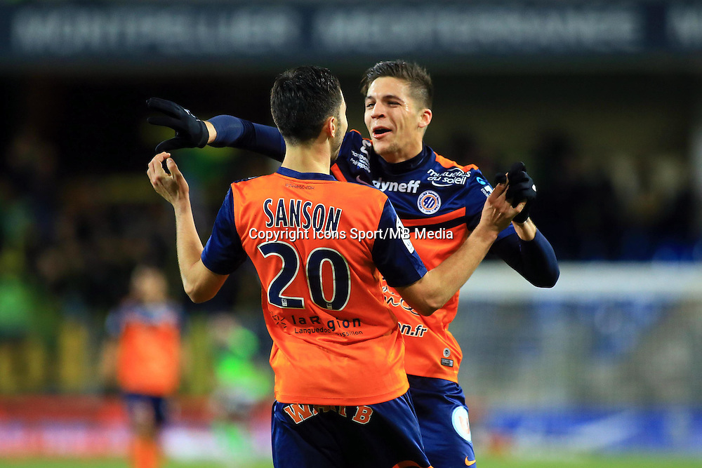 Jonas MARTIN - 24.01.2015 - Montpellier / Nantes  - 22eme journee de Ligue1<br />Photo : Nicolas Guyonnet / Icon Sport