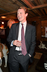 Thomas BROOKSBANK at Skiing With Heroes Junior Committee Awareness Party held at Bodo's Schloss, 2A Kensington High Street, London on 6th November 2014.