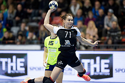 Alexandra Stepanova of Rostov-Don during handball match between RK Krim Mercator and Rostov-Don in Main Round of Women's EHF Champions League 2017/18, on March 3, 2018 in Sports hall Kodeljevo, Ljubljana, Slovenia. Photo by Urban Urbanc / Sportida