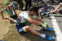 Sykkel<br /> Foto: PhotoNews/Digitalsport<br /> NORWAY ONLY<br /> <br /> IMPEY Daryl of Orica GreenEDGE, victim of the crash during the stage 3 of the 102nd edition of the Tour de France 2015 with start in Antwerp and finish in Huy, Belgium (159 kms) *** HUY, BELGIUM - 6/07/2015