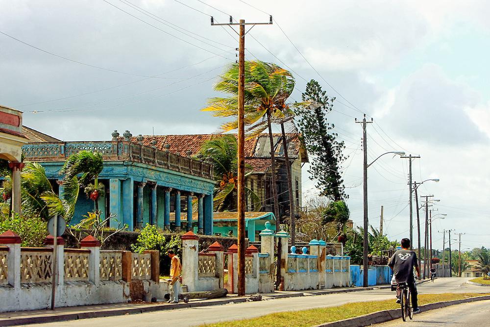 Street in Matanzas, Cuba.