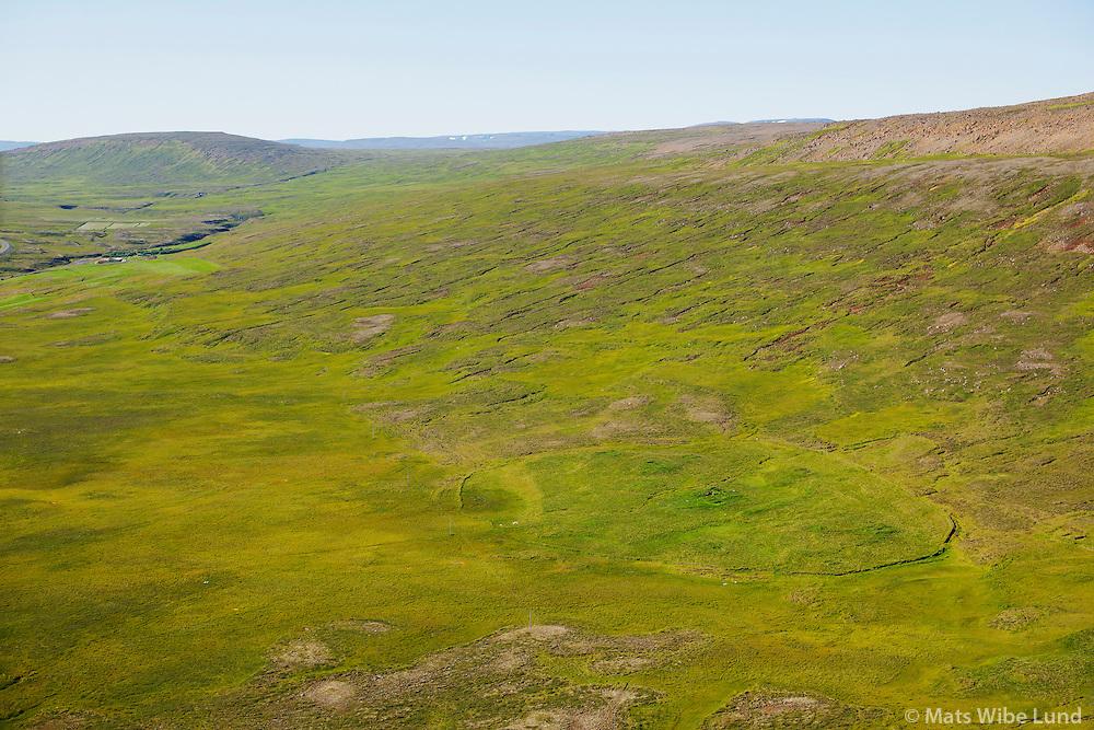 Rjúpnafell séð til vesturs, Vesturárdalur, Vopnafjarðarhreppur. / Rjupnafell viewing west, Vesturardalur, Vopnafjardarhreppur