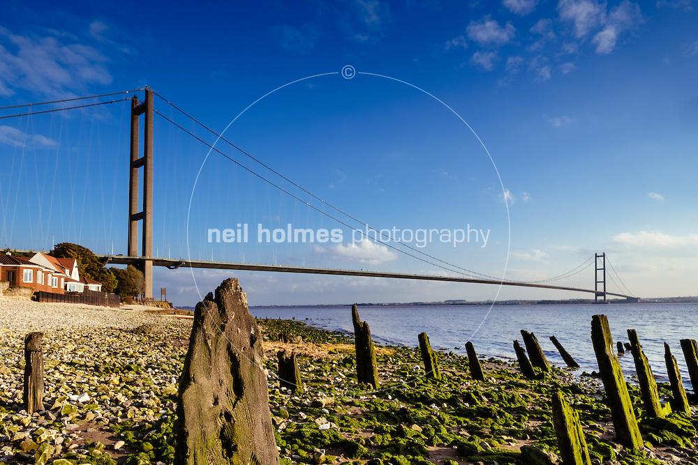 Country Park Inn, Hessle, East Yorkshire, United Kingdom, 26 October, 2016. Pictured: Humber Bridge