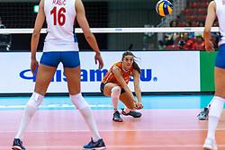 11-10-2018 JPN: World Championship Volleyball Women day 12, Nagoya<br /> Netherlands - Serbia 3-0 / Anne Buijs #11 of Netherlands