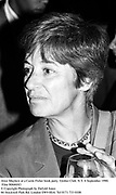 Alice Mayhew at a Carie Fisher book party. Grolier Club. N.Y. 6 September 1990. Film 90666f43<br />© Copyright Photograph by Dafydd Jones<br />66 Stockwell Park Rd. London SW9 0DA<br />Tel 0171 733 0108