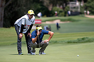 Robert Allenby (AUS) at Day 1 of The Emirates Australian Open Golf at The Lakes Golf Club in Sydney, Australia.