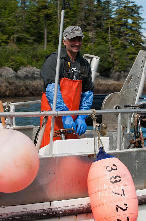 Salmon Gillnet fishing, Sitka, Alaska
