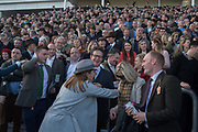 Cheltenham races,  Ladies Day, Wednesday 15 March 2017