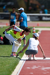 Behind the scenes, , Triple Jump, T12, 2013 IPC Athletics World Championships, Lyon, France