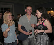 Angie Kurdash,  Giles Deacon and Katie Grand, THE CHRISTMAS PARTY CELEBRATING THE 225TH ANNIVERSARY OF ASPREY. 167 NEW BOND ST. LONDON W1. 7 DECEMBER 2006. ONE TIME USE ONLY - DO NOT ARCHIVE  © Copyright Photograph by Dafydd Jones 248 CLAPHAM PARK RD. LONDON SW90PZ.  Tel 020 7733 0108 www.dafjones.com