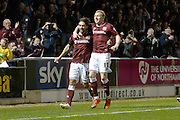 during the Sky Bet League 2 match between Northampton Town and Crawley Town at Sixfields Stadium, Northampton, England on 19 April 2016. Photo by Dennis Goodwin.