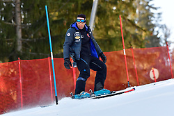 Behind the scenes, Slalom at the WPAS_2019 Alpine Skiing World Cup Finals, Morzine, France
