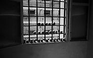 Roma 2000.Carcere di Regina Coeli  .La frutta alla finestra. Regina Coeli (Queen of Heaven) Prison.the fruit