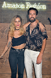 JACK GUINNESS and ALICE DELLAL at a party to launch the Amazon Fashion Photography Studio at 383 Geffrye Street, London E2 on 23rd July 2015.