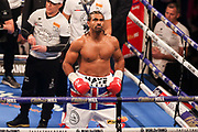 David Haye before the fight at the O2 Arena, London, United Kingdom on 5 May 2018. Picture by Phil Duncan.