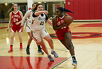 SPS girls basketball with Bradford.  ©2018 Karen Bobotas Photographer