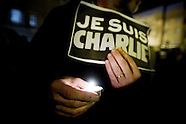 Tribute to Charlie Hebdo victims