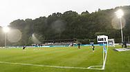 FODBOLD: Opvarmning af målmænd før kampen i ALKA Superligaen mellem FC Helsingør og OB den 24. juli 2017 på Helsingør Stadion. Foto: Claus Birch