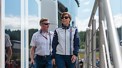 21.06.2015, Red Bull Ring, Spielberg, AUT, FIA, Formel 1, Grosser Preis von Österreich, Rennen, im Bild Teammanagerin Claire Williams, (GBR, Williams Martini Racing)<br />  // during the Race of the Austrian Formula One Grand Prix at the Red Bull Ring in Spielberg, Austria, 2015/06/21, EXPA Pictures © 2015, PhotoCredit: EXPA/ JFK