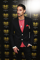 LONDON - May 29: Hugo Taylor at the Lipsy VIP Fashion Awards 2013 (Photo by Brett D. Cove)