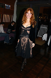 CHARLOTTE TILBURY at a party to celebrate the publication of 'The year of Eating Dangerously' by Tom Parker Bowles held at Kensington Place, 201 Kensington Church Street, London on 12th october 2006.<br />