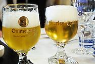 Charles Quint Ommegang Belgian Beer, served in Brussels, Belgium.