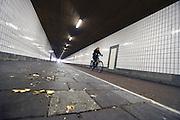 Nederland, Nijmegen, 30-11-2016Overlast in spoortunnel ondanks cameratoezicht  .Foto: Flip Franssen