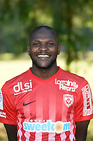 Julien Cetout of Nancy poses for a portrait during the Nancy squad photo call for the 2016-2017 Ligue 1 season on August 25, 2016 in Nancy, France<br /> Photo : Fred Marvaux / Icon Sport