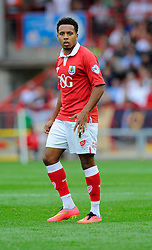 Bristol City's Korey Smith  - Photo mandatory by-line: Joe Meredith/JMP - Mobile: 07966 386802 - 27/09/2014 - SPORT - Football - Bristol - Ashton Gate - Bristol City v MK Dons - Sky Bet League One
