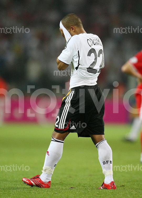 Fussball   WM 2006   Nationalmannschaft Deutschland David ODONKOR (Deutschland)