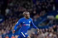 LONDON,ENGLAND - DECEMBER 05: Chelsea (7) N'Golo Kanté during the UEFA Champions League group C match between Chelsea FC and Atletico Madrid at Stamford Bridge on December 5, 2017 in London, United Kingdom.  <br /> ( Photo by Sebastian Frej / MB Media )