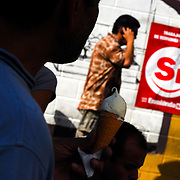 VENEZUELAN POLITICS / POLITICA EN VENEZUELA<br /> Political campaign of Chavismo, Caracas - Venezuela 2009 / Campaña politica del Chavismo, Caracas - Venezuela 2009<br /> (Copyright © Aaron Sosa)