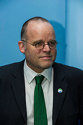 Pictured: Andy Wightman, Local Government Spokesperson<br /> <br /> Patrick Harvie, Co-Convenor of the Scottish Green Party met children at the Enjoy-a-Ball Holiday camp taking place at the North Merchiston Community Centre ahead of Tuesday's TV debate. Mr Harvie was joined by fellow MSP candidates Andy Wightman, Local Government Spokesperson, Maggie Chapman, Co-convener and Alison Johnston candiate for Lothian to present taxation proposals and answer questions.<br /> <br /> Ger Harley | EEm 29 March 2016