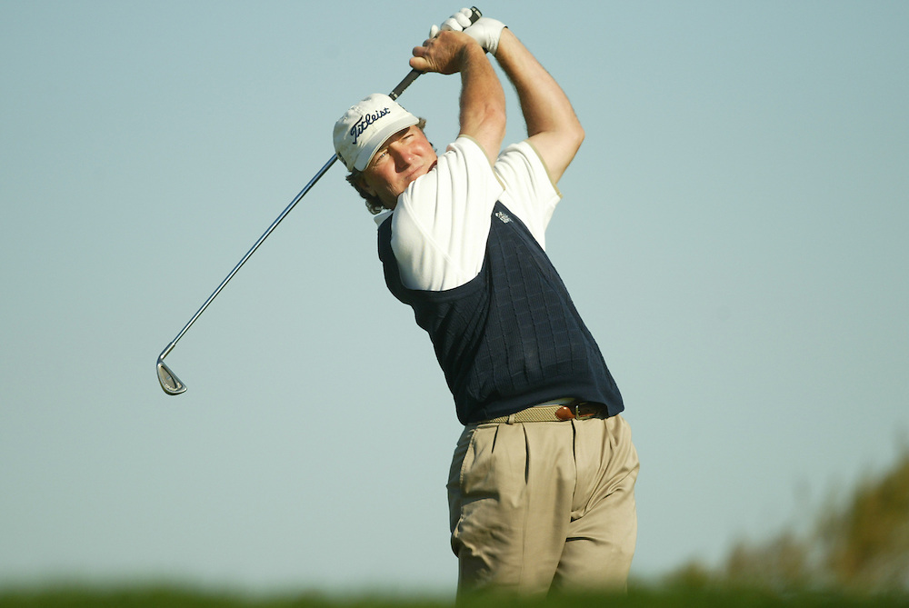 Danny Briggs..2003 PGA Tour Qualifying, Final Stage.Fifth Round.Orange County National GC.Orlando, FL.Sunday, December 7  2003..Photograph by Darren Carroll..