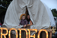 Thousands of cheerful spectators lined South Main Street on Saturday night, July 12th, for the traditional lighted Colmo del Rodeo Parade, one of the many events to kick off the 2014 California Rodeo Salinas.